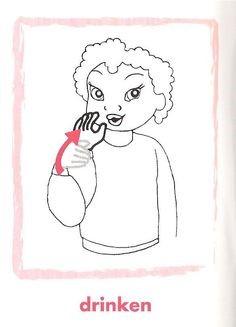 drinken gebarentaal