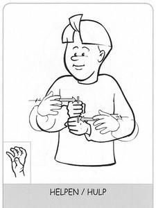 helpen gebarentaal